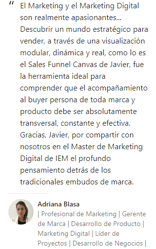 Opinión Adriana Blasa