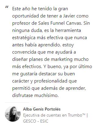 Opinión Alba Genís
