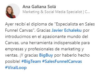 Opinión Ana Galiana