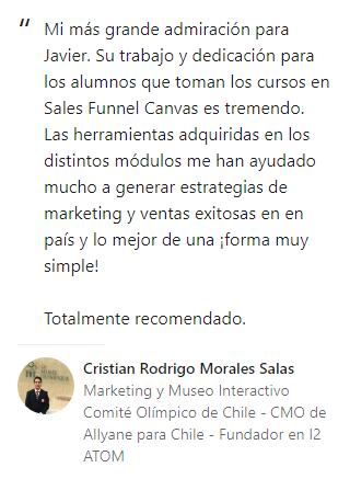 Opinión Cristian Rodrigo