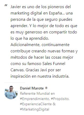 Opinión Daniel Marote