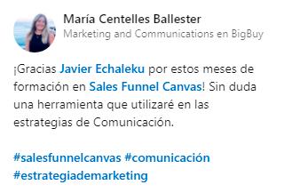 Opinión María Centelles