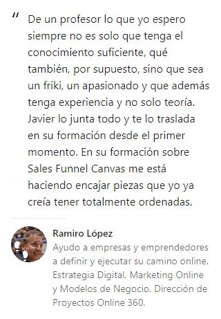 Opinión Ramiro López