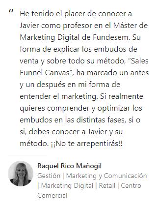 Opinión Raquel Rico