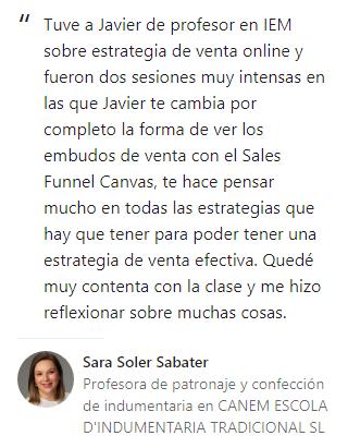 Opinión Sara Soler
